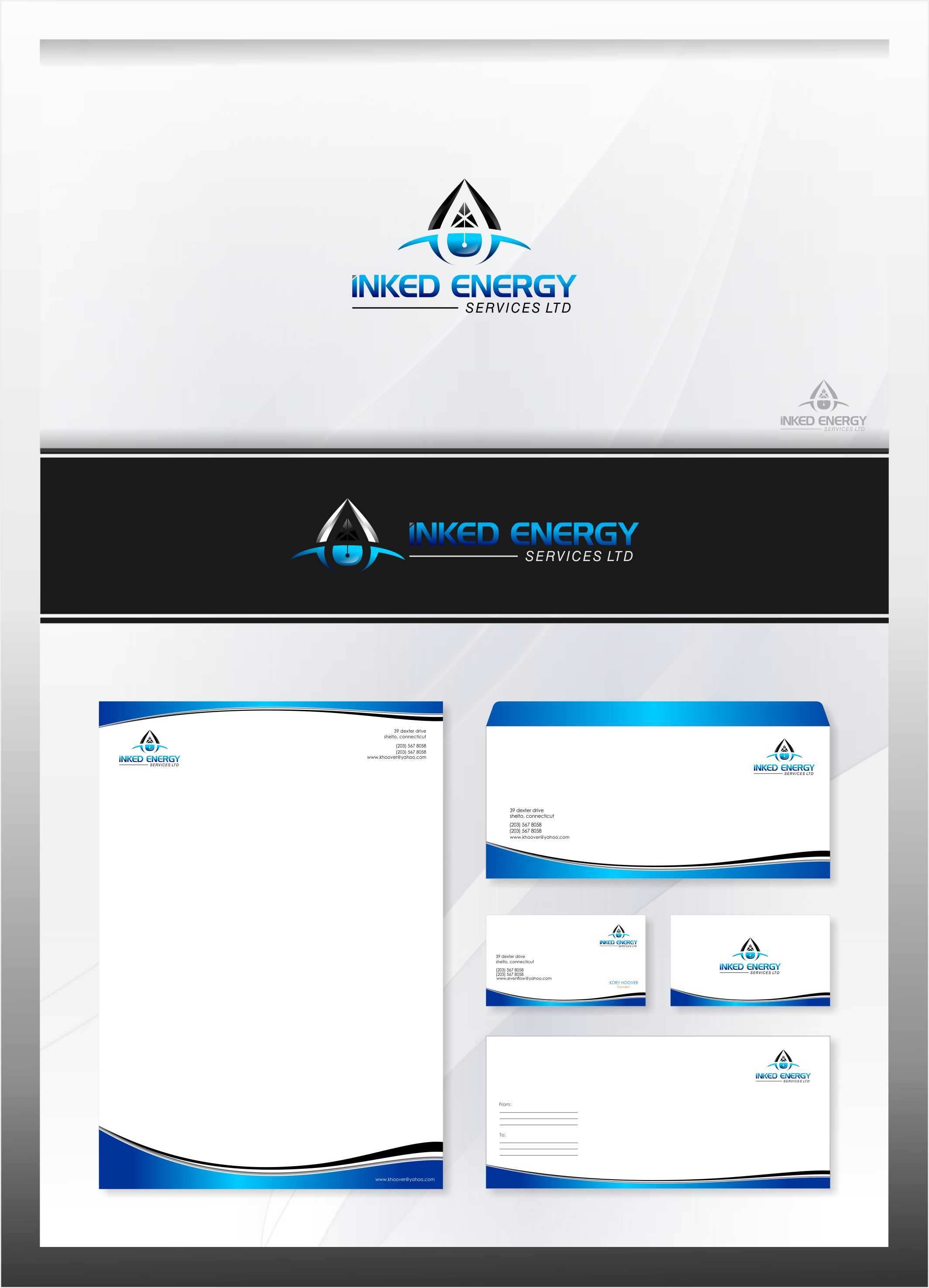 Logo Design by Raymond Garcia - Entry No. 169 in the Logo Design Contest Creative Logo Design for INKED ENERGY SERVICES LTD.