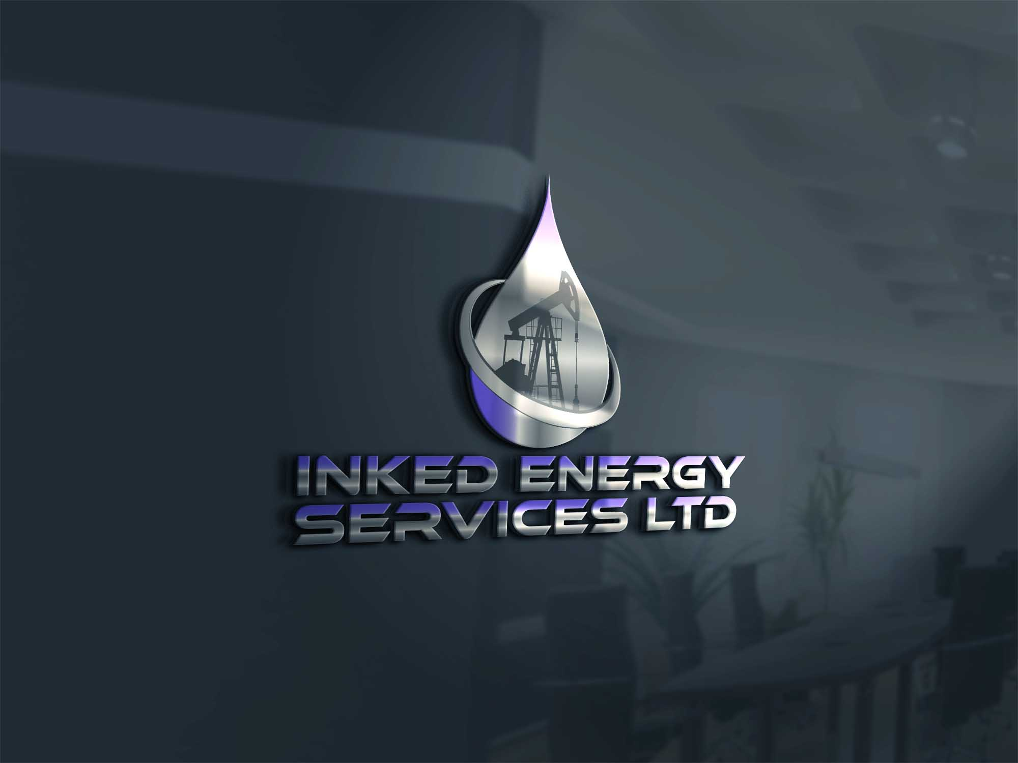 Logo Design by Private User - Entry No. 170 in the Logo Design Contest Creative Logo Design for INKED ENERGY SERVICES LTD.