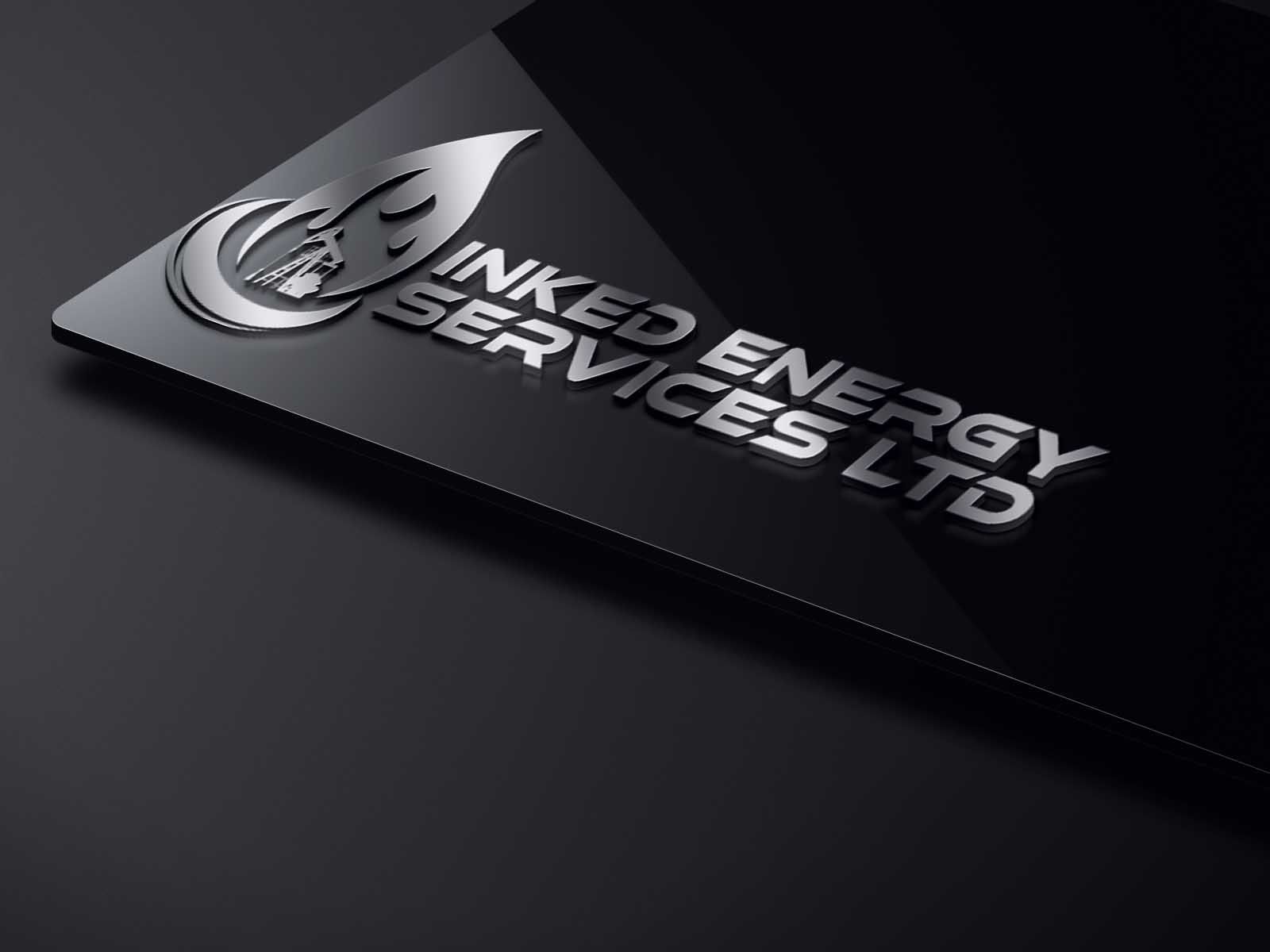 Logo Design by Private User - Entry No. 175 in the Logo Design Contest Creative Logo Design for INKED ENERGY SERVICES LTD.