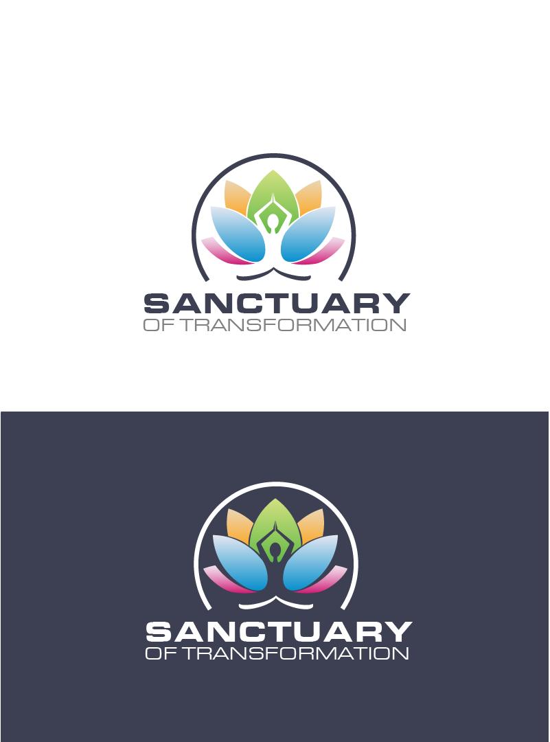 Logo Design by Private User - Entry No. 45 in the Logo Design Contest Fun Logo Design for Sanctuary of Transformation.