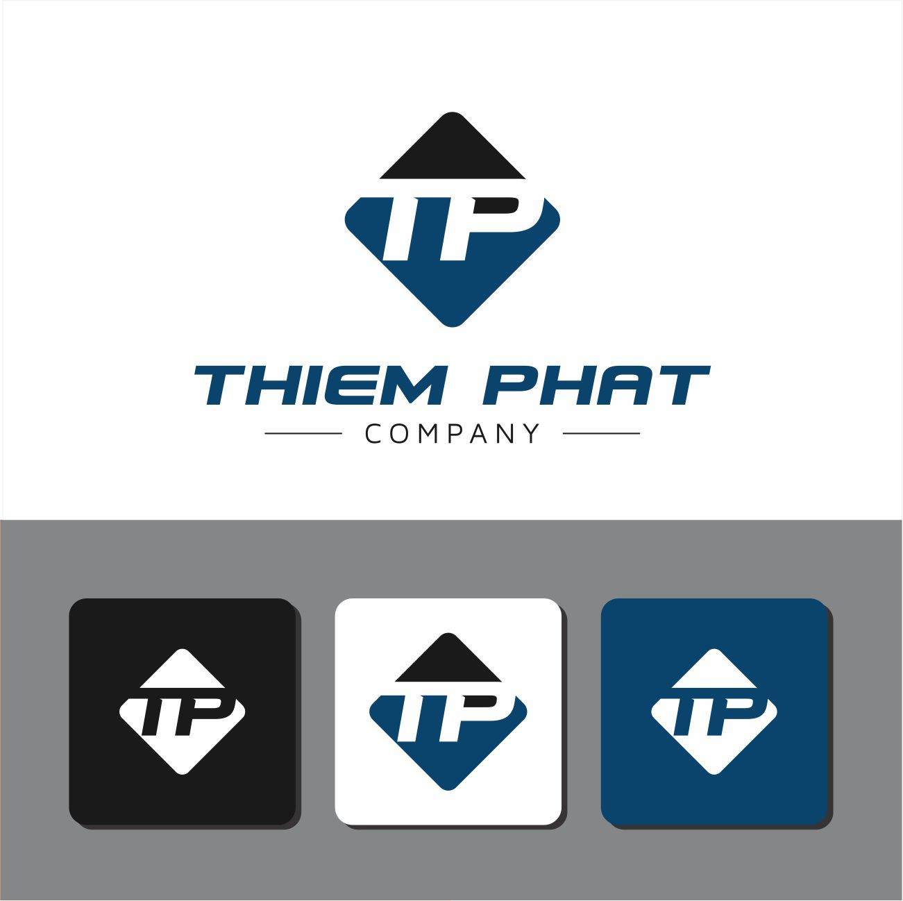Logo Design by RasYa Muhammad Athaya - Entry No. 141 in the Logo Design Contest New Logo Design for Thiem Phat company.