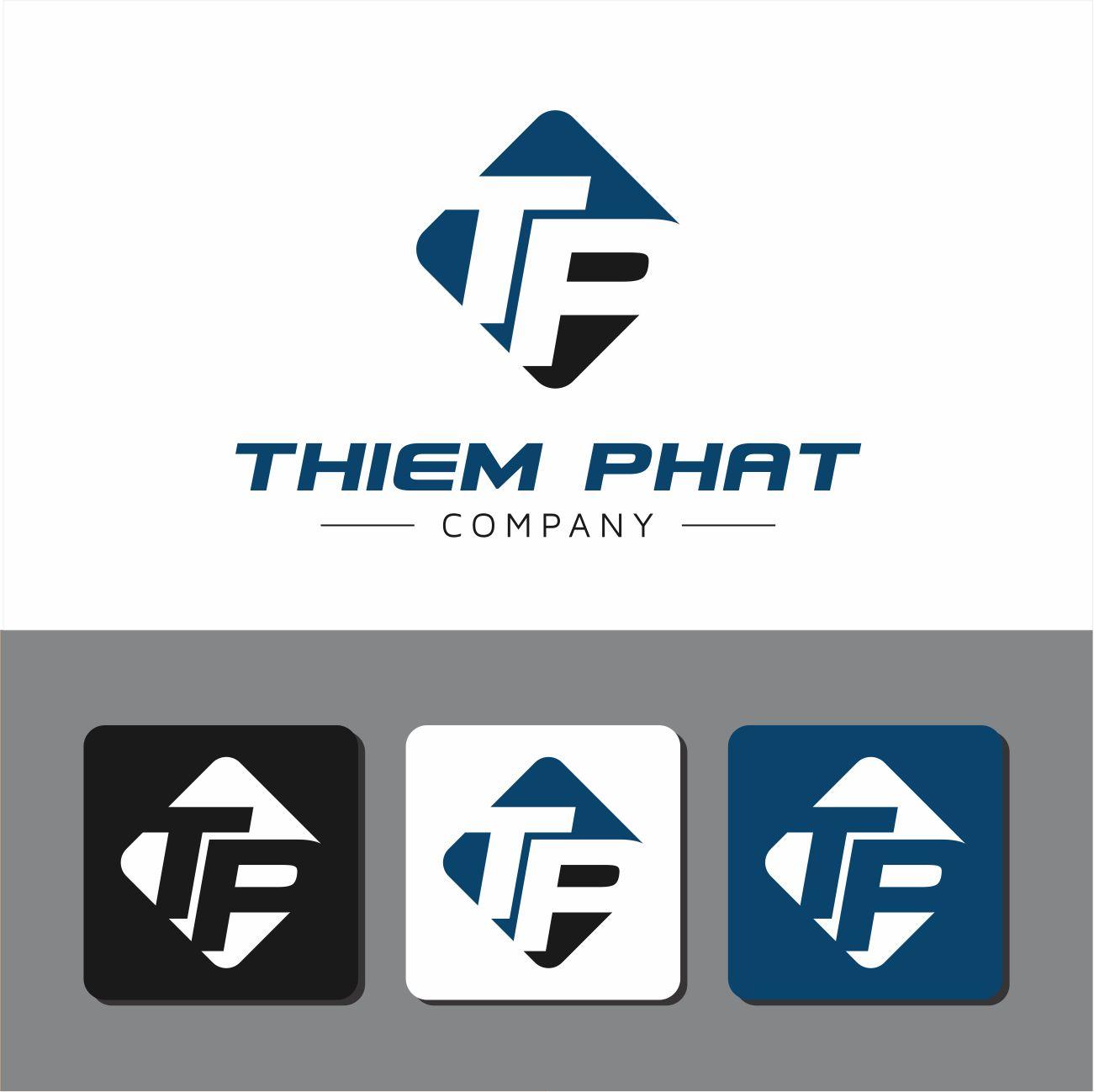 Logo Design by RasYa Muhammad Athaya - Entry No. 143 in the Logo Design Contest New Logo Design for Thiem Phat company.