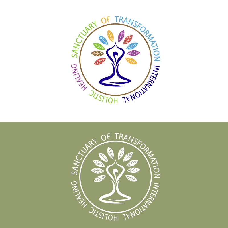 Logo Design by Ajaz ahmed Sohail - Entry No. 53 in the Logo Design Contest Fun Logo Design for Sanctuary of Transformation.