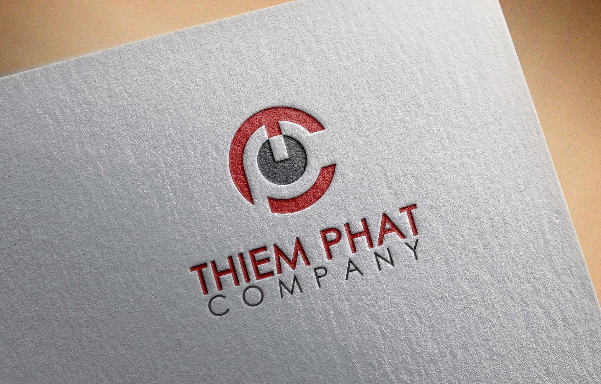Logo Design by MD SHOHIDUL ISLAM - Entry No. 177 in the Logo Design Contest New Logo Design for Thiem Phat company.