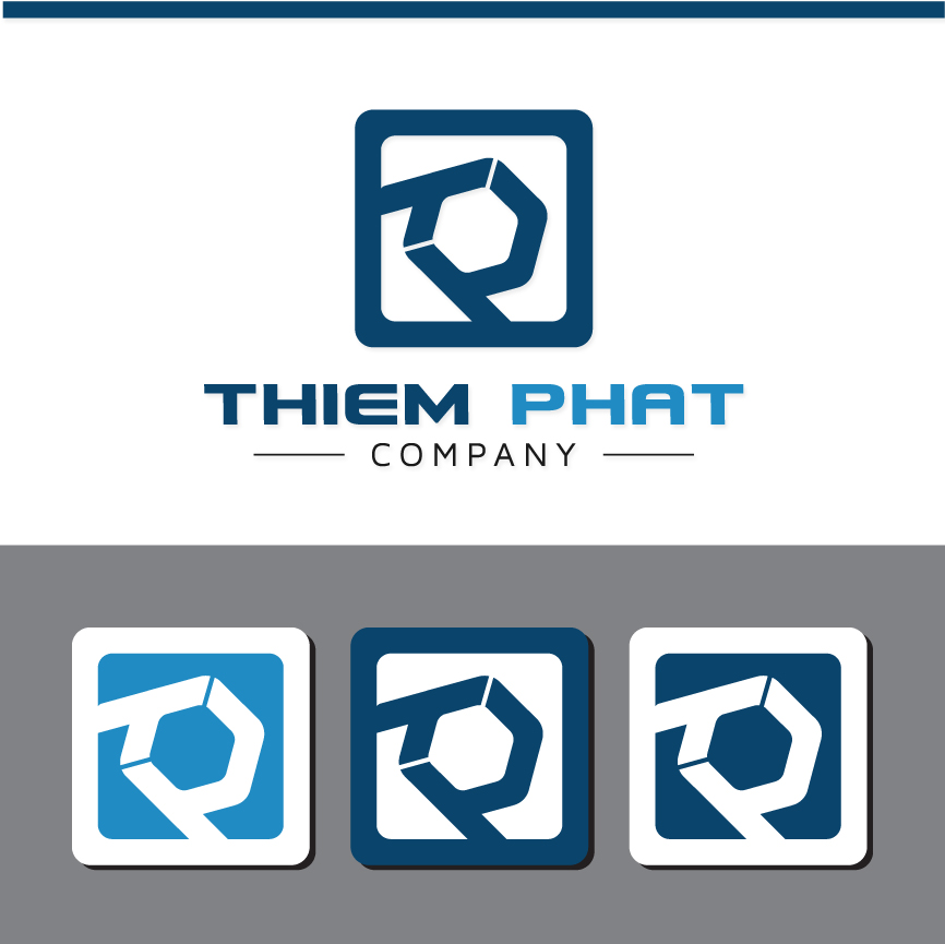 Logo Design by RasYa Muhammad Athaya - Entry No. 179 in the Logo Design Contest New Logo Design for Thiem Phat company.