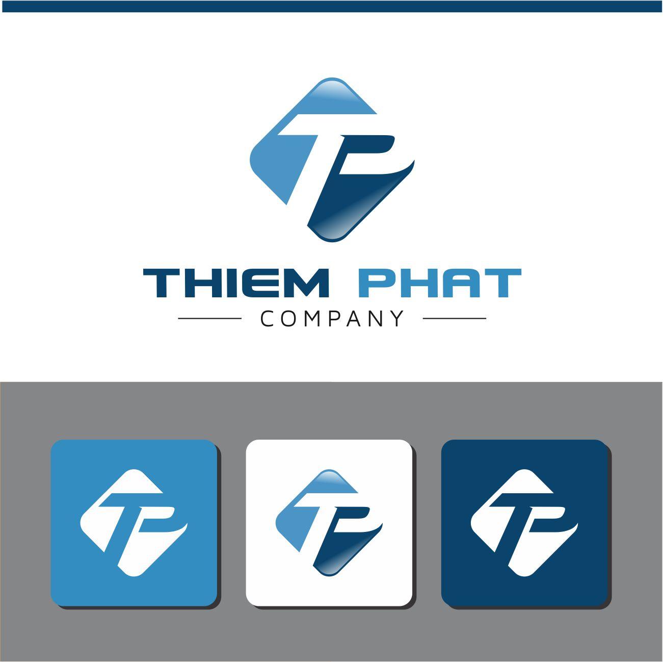 Logo Design by RasYa Muhammad Athaya - Entry No. 198 in the Logo Design Contest New Logo Design for Thiem Phat company.