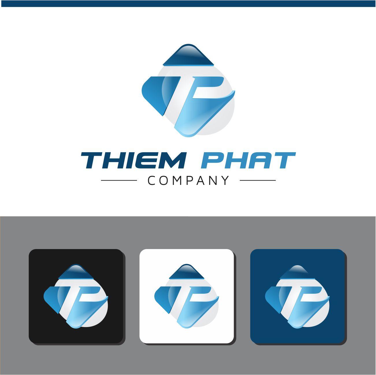 Logo Design by RasYa Muhammad Athaya - Entry No. 200 in the Logo Design Contest New Logo Design for Thiem Phat company.