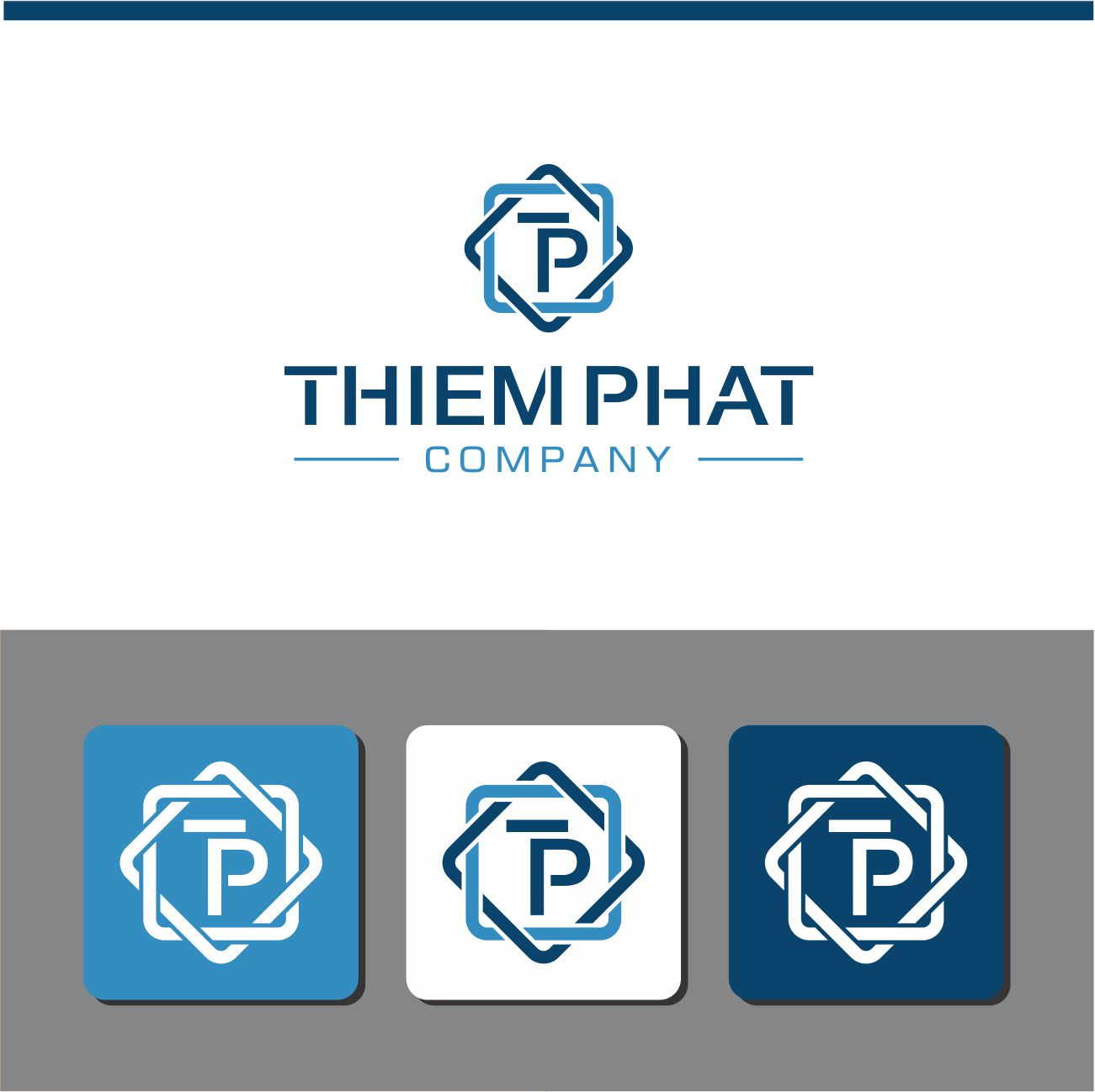 Logo Design by RasYa Muhammad Athaya - Entry No. 224 in the Logo Design Contest New Logo Design for Thiem Phat company.