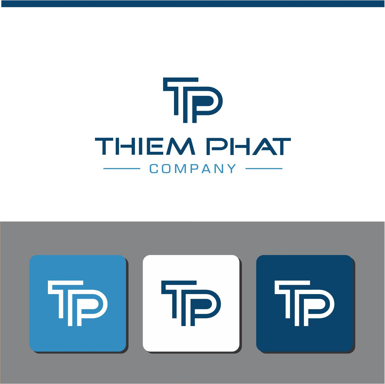 Logo Design by RasYa Muhammad Athaya - Entry No. 228 in the Logo Design Contest New Logo Design for Thiem Phat company.