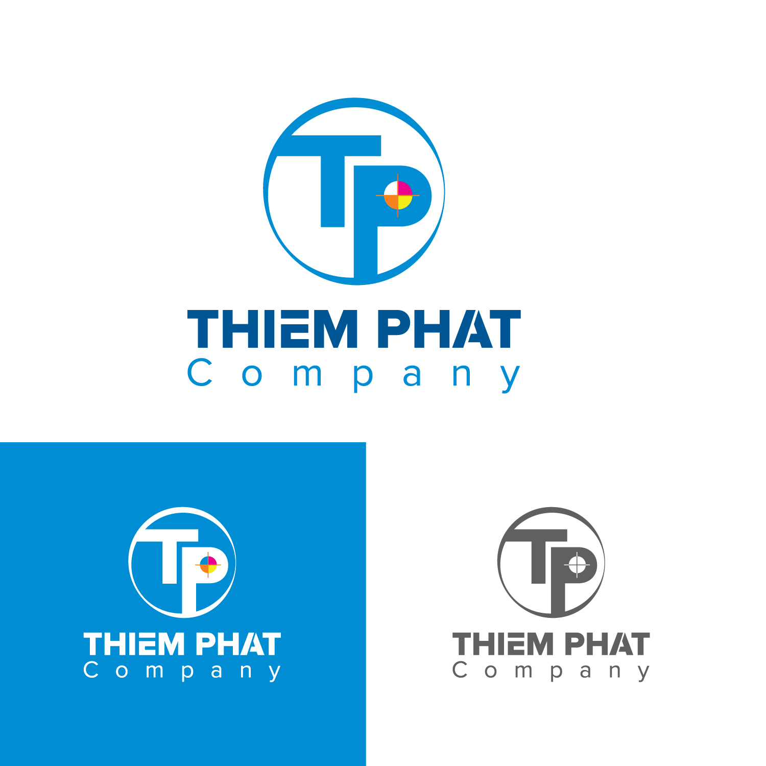 Logo Design by Bac Huu - Entry No. 273 in the Logo Design Contest New Logo Design for Thiem Phat company.