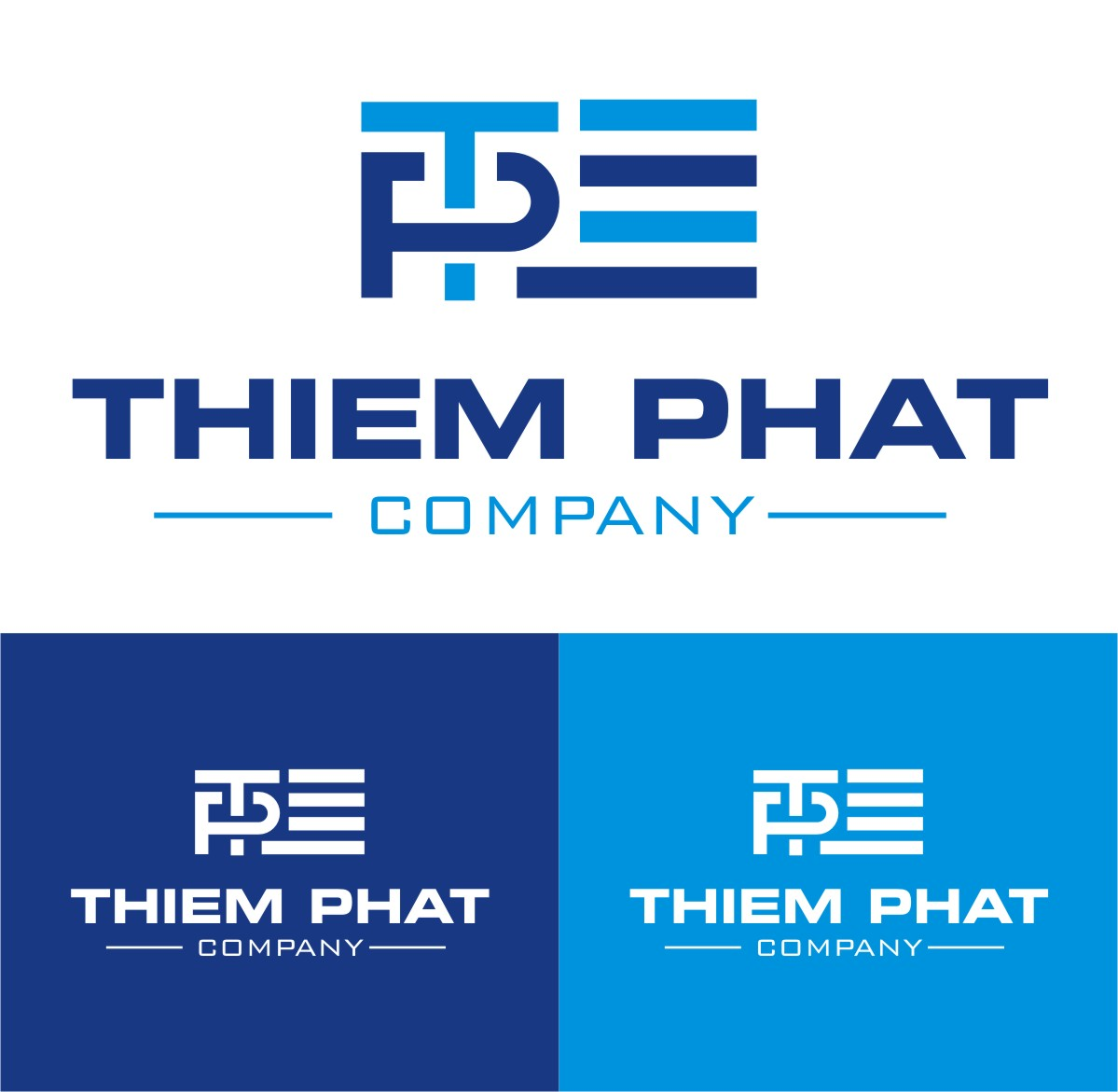 Logo Design by Spider Graphics - Entry No. 281 in the Logo Design Contest New Logo Design for Thiem Phat company.