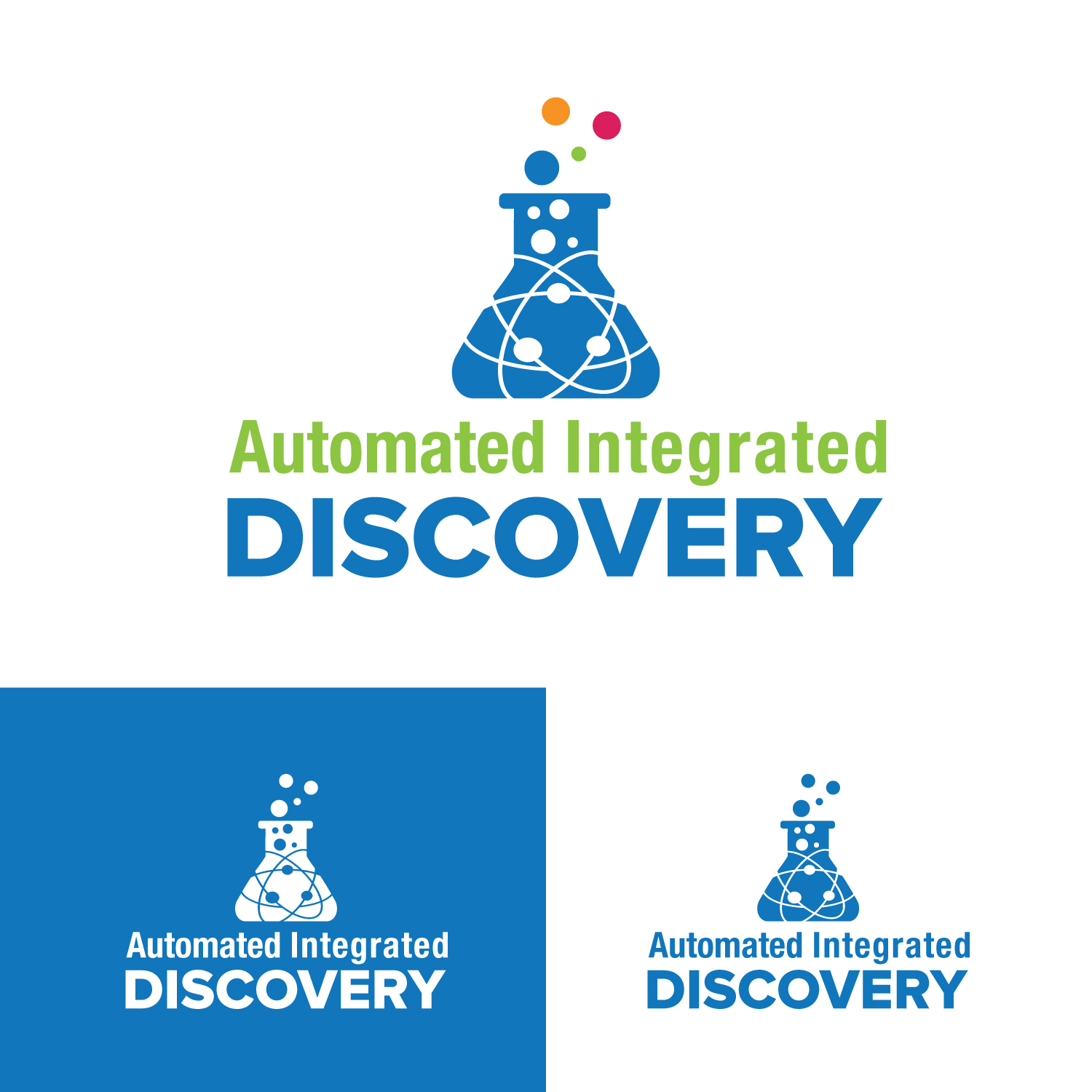 Logo Design by Bac Huu - Entry No. 34 in the Logo Design Contest Automated Integrated Discovery  Logo Design.