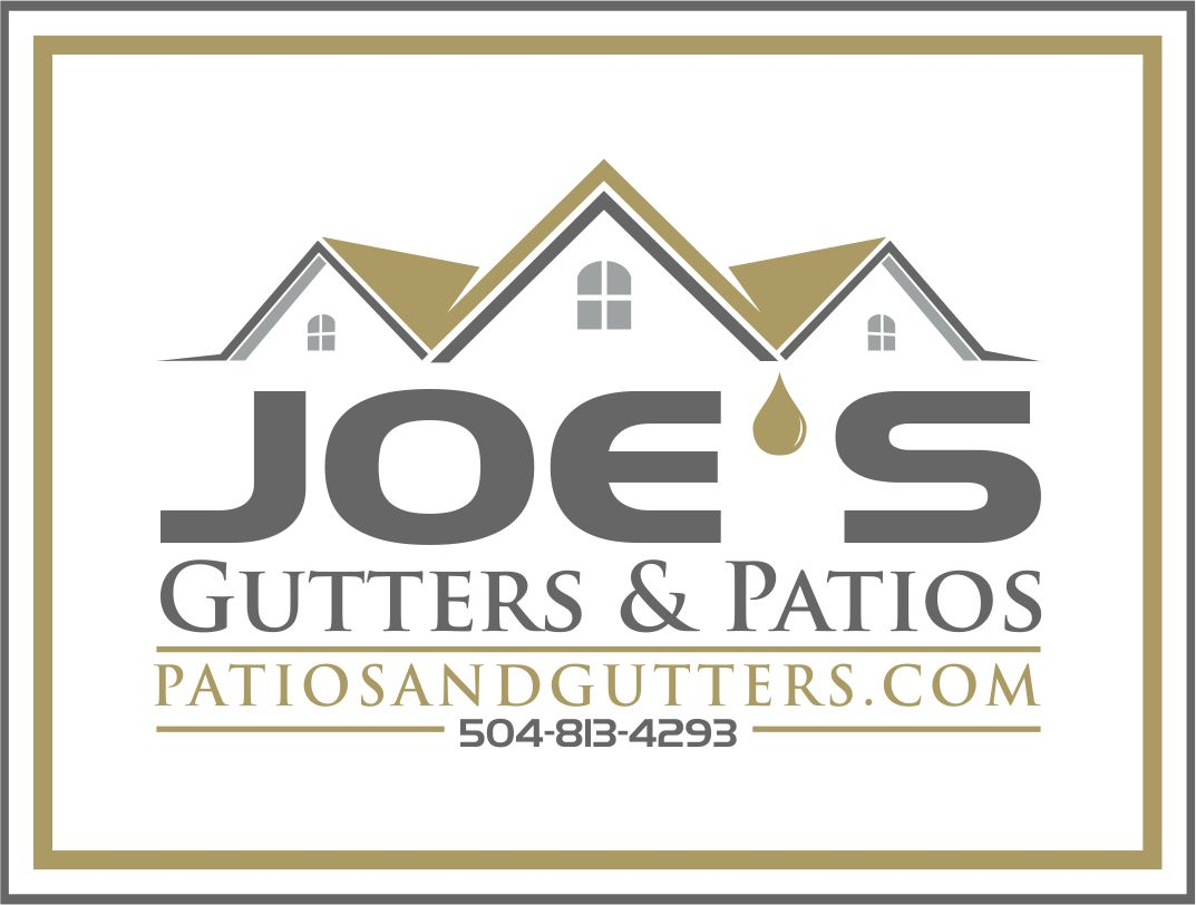 Logo Design by Raymond Garcia - Entry No. 8 in the Logo Design Contest Imaginative Logo Design for Joes Gutters & Patios.