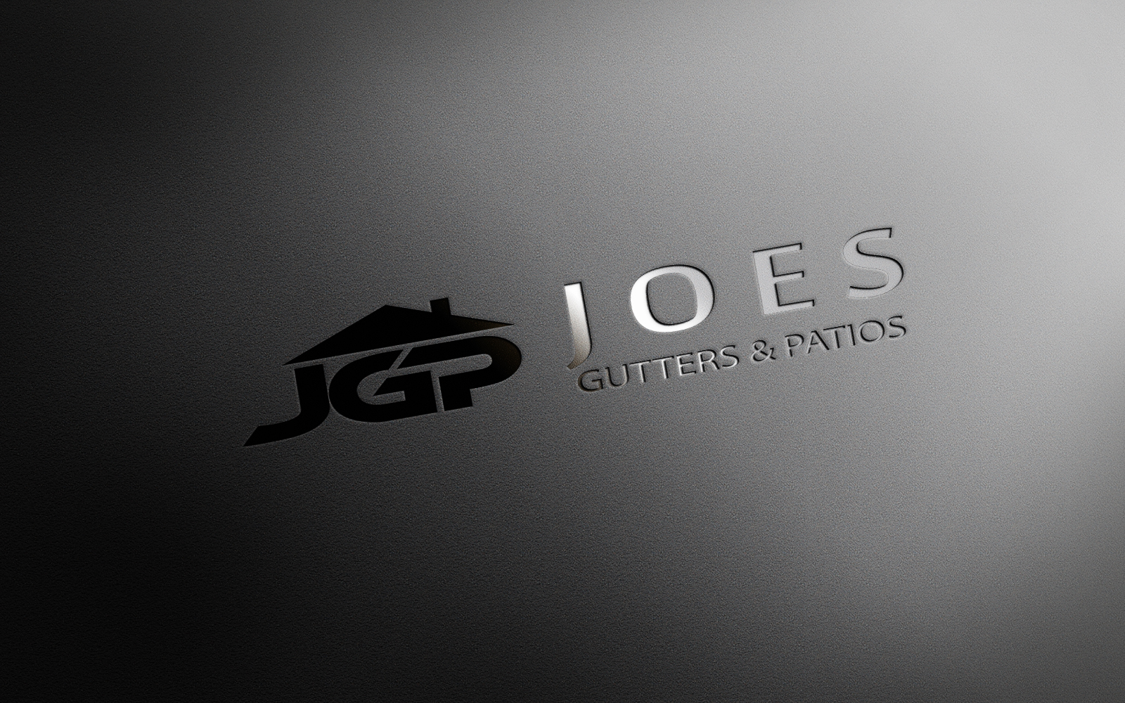 Logo Design by Private User - Entry No. 15 in the Logo Design Contest Imaginative Logo Design for Joes Gutters & Patios.