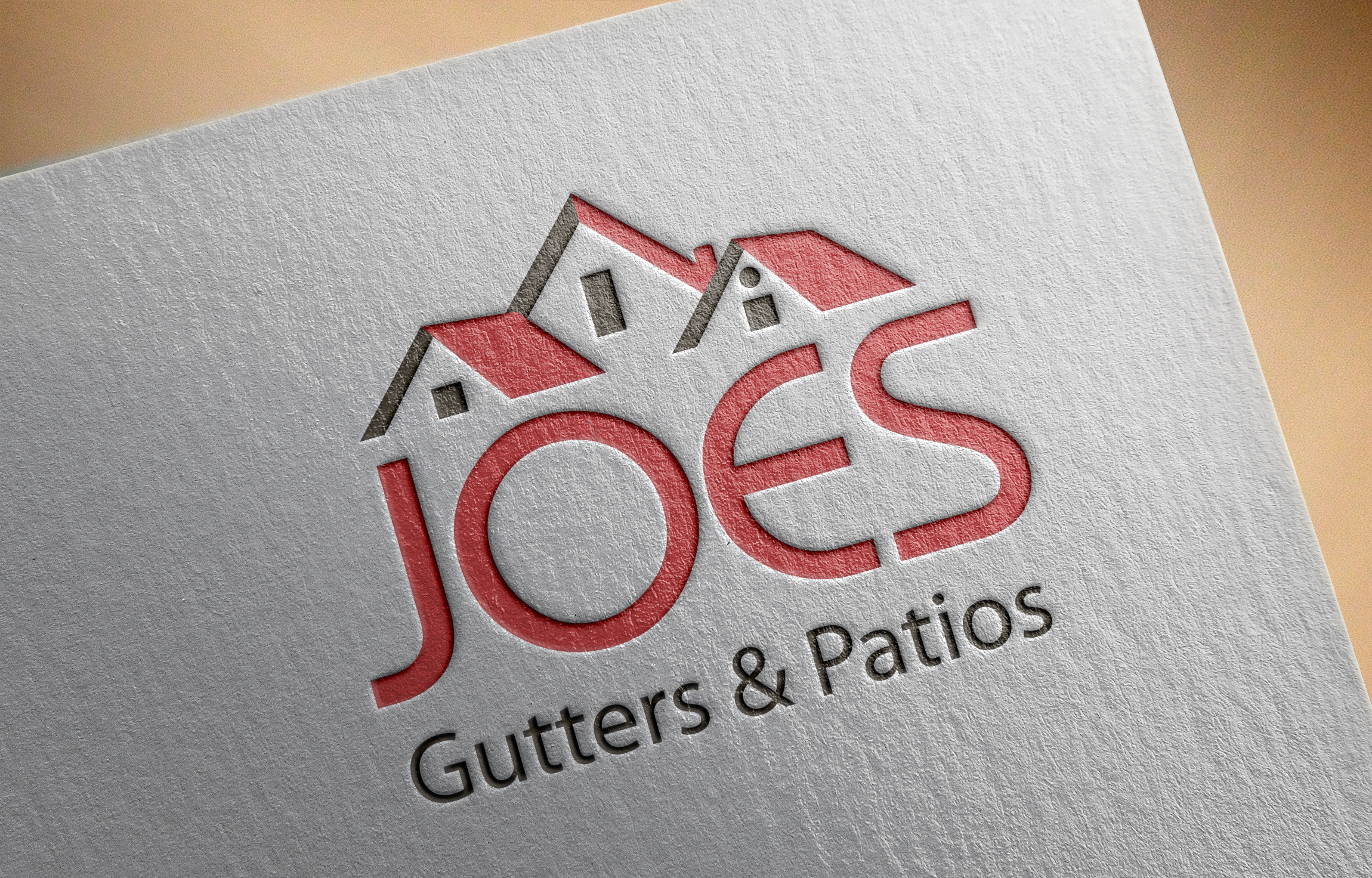 Logo Design by Private User - Entry No. 31 in the Logo Design Contest Imaginative Logo Design for Joes Gutters & Patios.