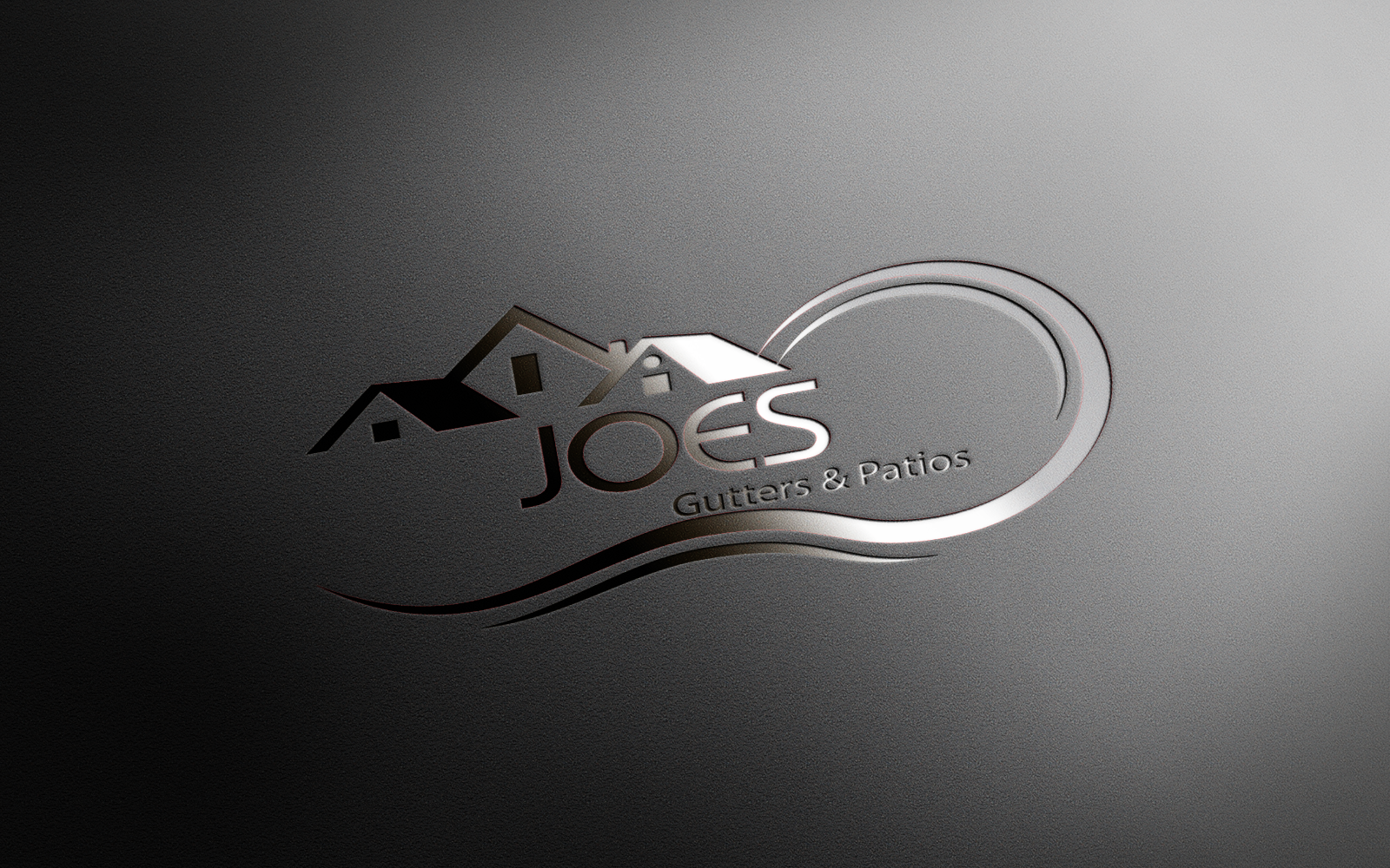Logo Design by Private User - Entry No. 32 in the Logo Design Contest Imaginative Logo Design for Joes Gutters & Patios.