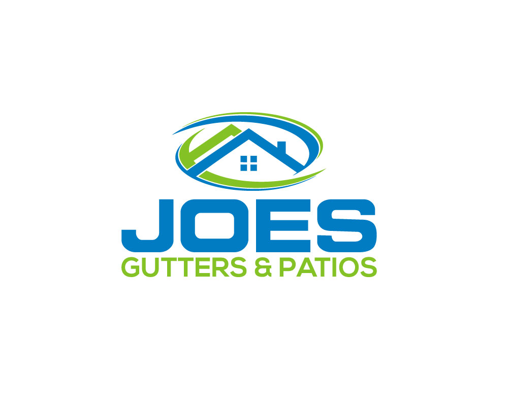 Logo Design by Mohammad azad Hossain - Entry No. 33 in the Logo Design Contest Imaginative Logo Design for Joes Gutters & Patios.