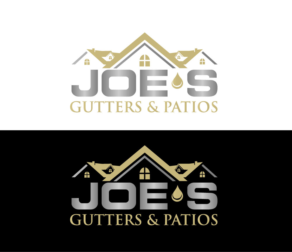 Logo Design by Private User - Entry No. 36 in the Logo Design Contest Imaginative Logo Design for Joes Gutters & Patios.