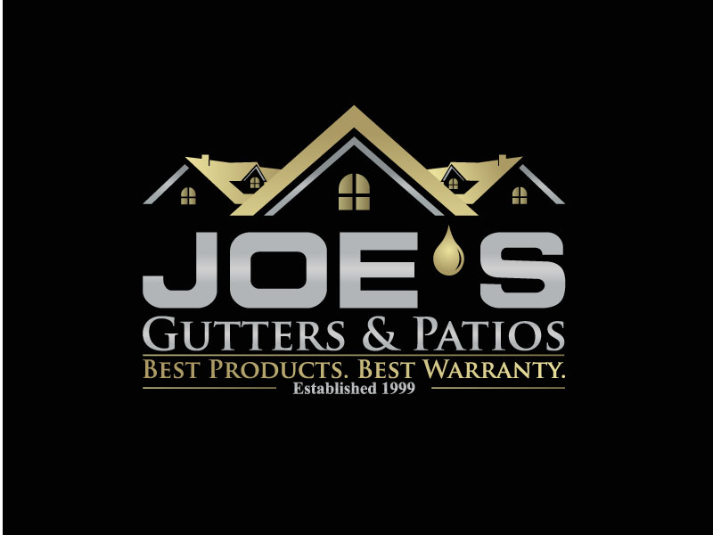 Logo Design by Private User - Entry No. 39 in the Logo Design Contest Imaginative Logo Design for Joes Gutters & Patios.