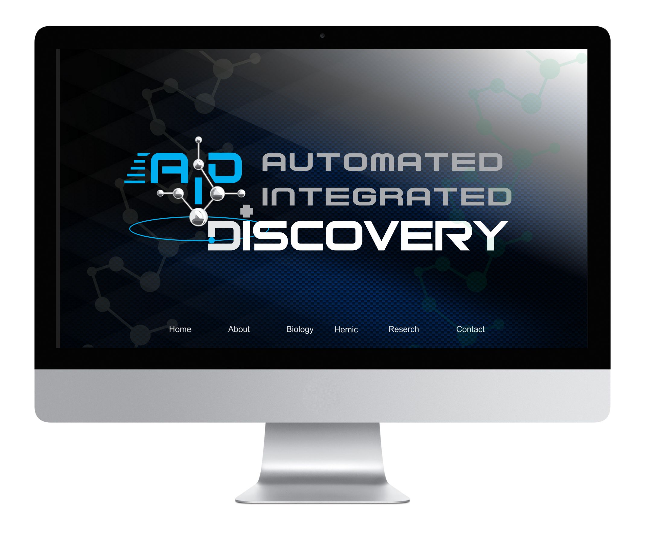 Logo Design by Nikola Kapunac - Entry No. 76 in the Logo Design Contest Automated Integrated Discovery  Logo Design.