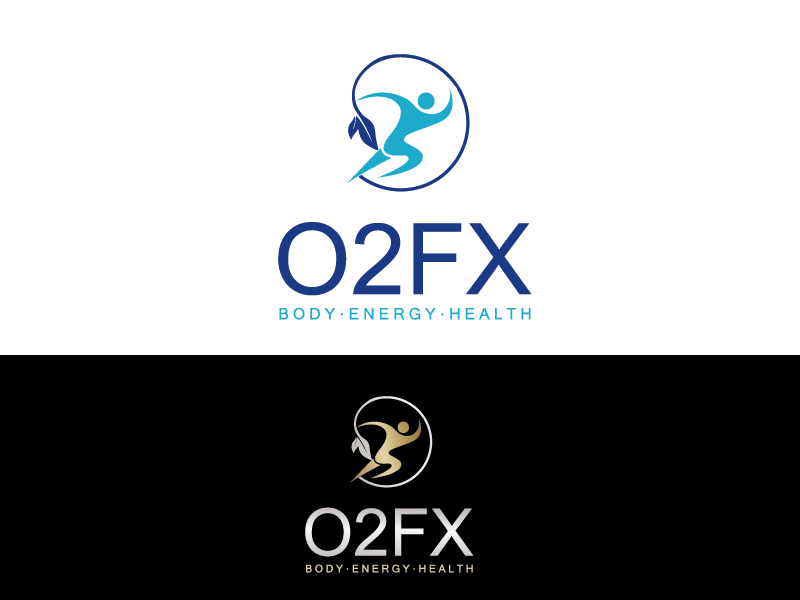 Logo Design by Private User - Entry No. 24 in the Logo Design Contest Captivating Logo Design for O2FX.