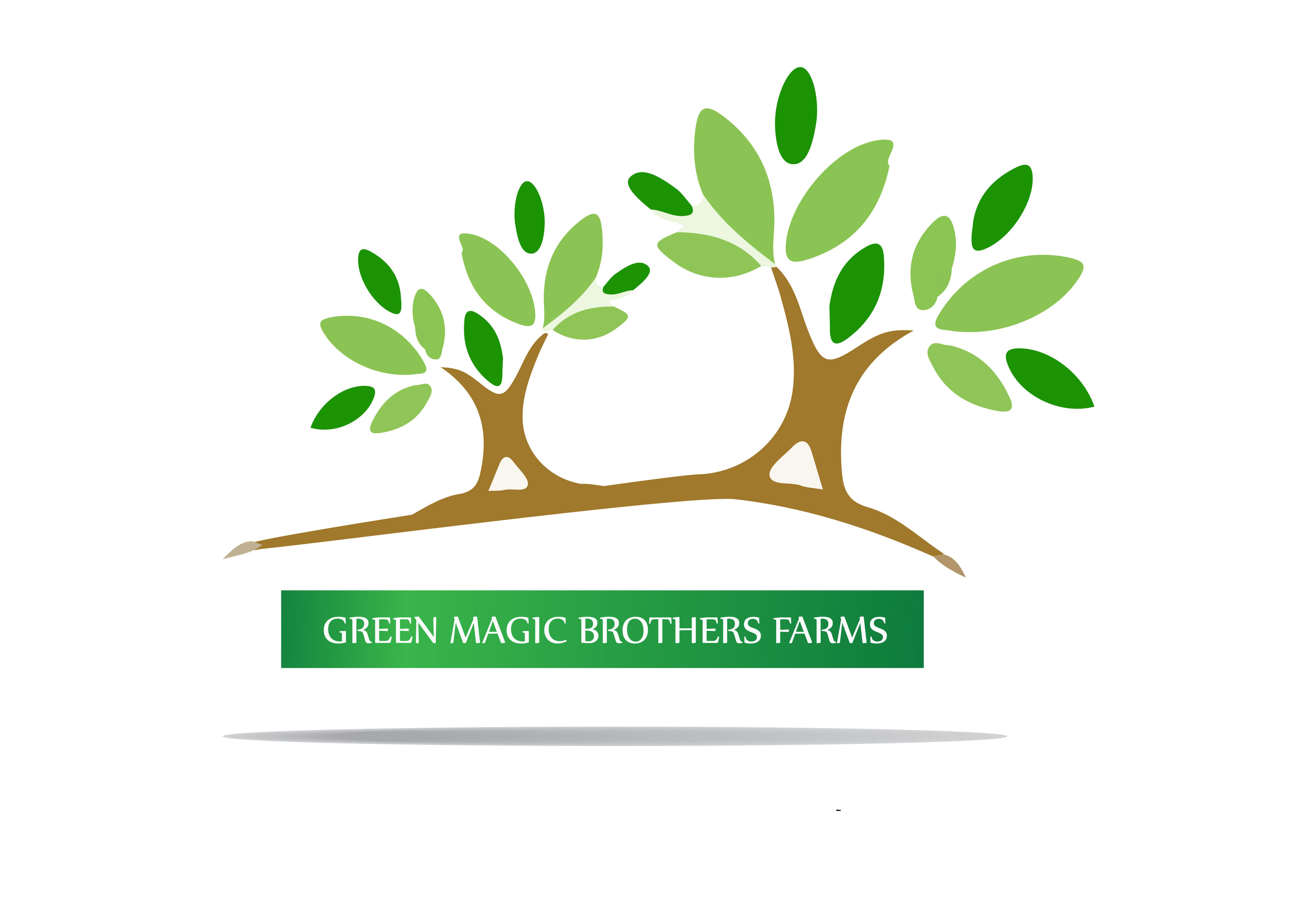 Logo Design by Bilal Baloch - Entry No. 7 in the Logo Design Contest Green Brothers Farm Logo Design.