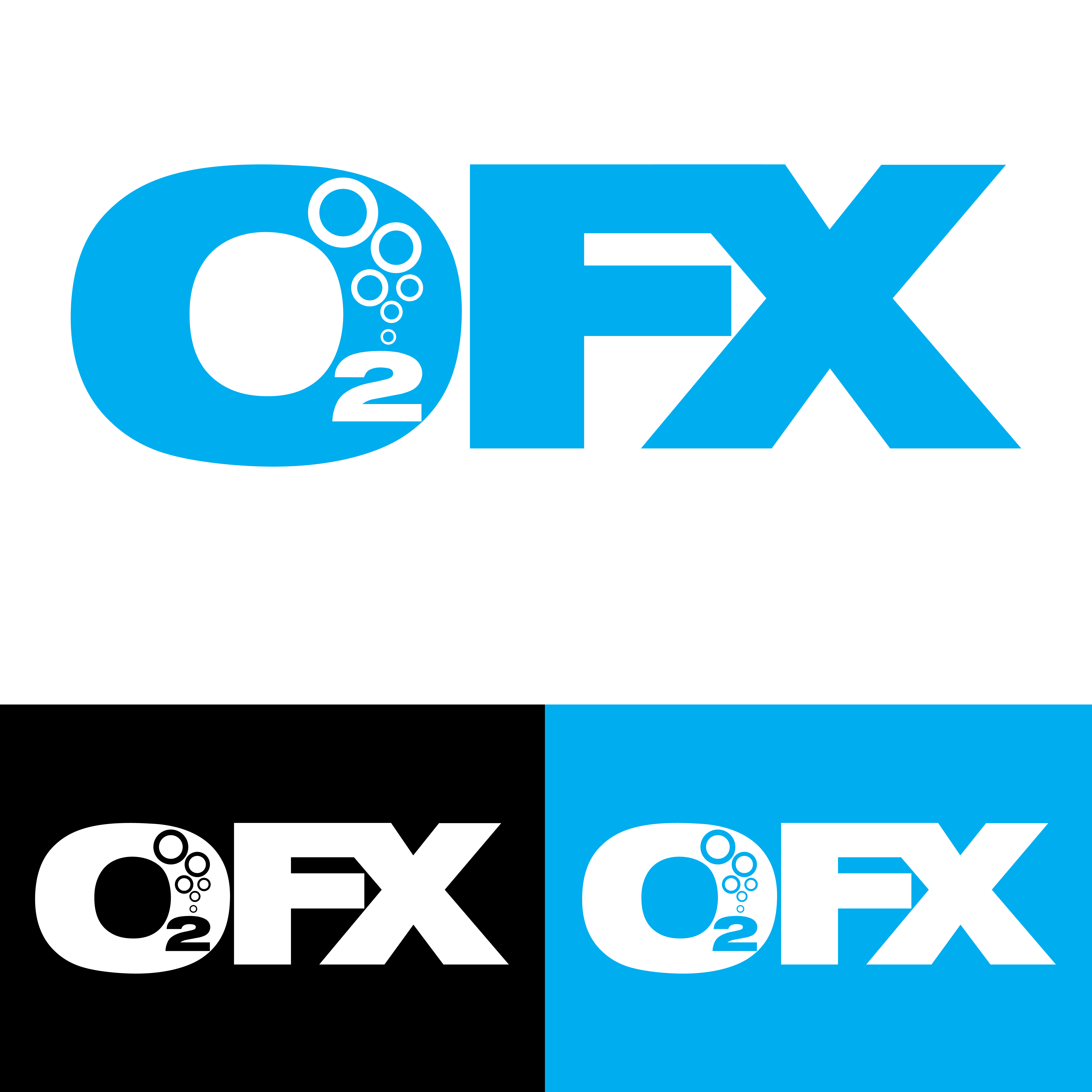 Logo Design by Private User - Entry No. 34 in the Logo Design Contest Captivating Logo Design for O2FX.
