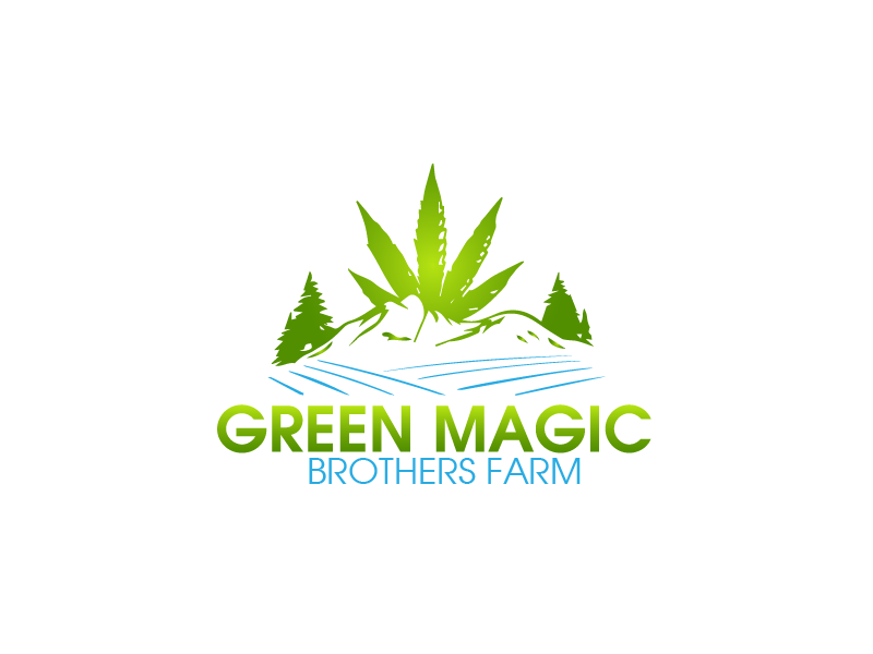 Logo Design by brands_in - Entry No. 9 in the Logo Design Contest Green Brothers Farm Logo Design.