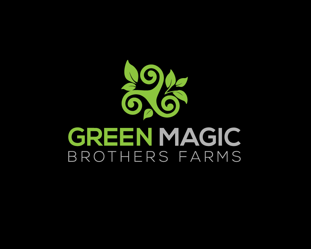 Logo Design by Mohammad azad Hossain - Entry No. 11 in the Logo Design Contest Green Brothers Farm Logo Design.