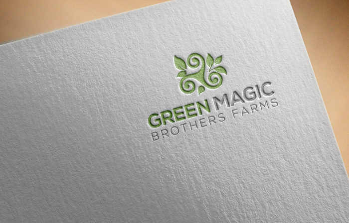 Logo Design by Mohammad azad Hossain - Entry No. 14 in the Logo Design Contest Green Brothers Farm Logo Design.