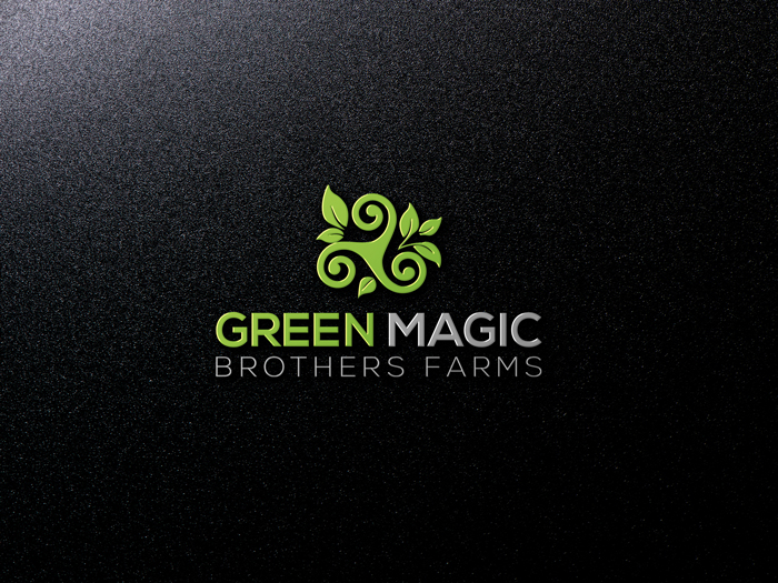 Logo Design by Mohammad azad Hossain - Entry No. 15 in the Logo Design Contest Green Brothers Farm Logo Design.