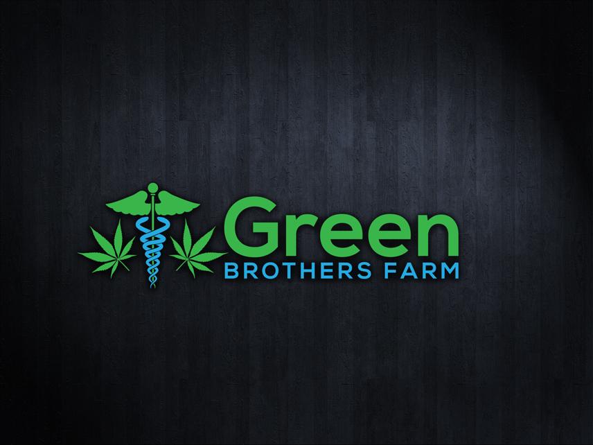 Logo Design by Private User - Entry No. 16 in the Logo Design Contest Green Brothers Farm Logo Design.