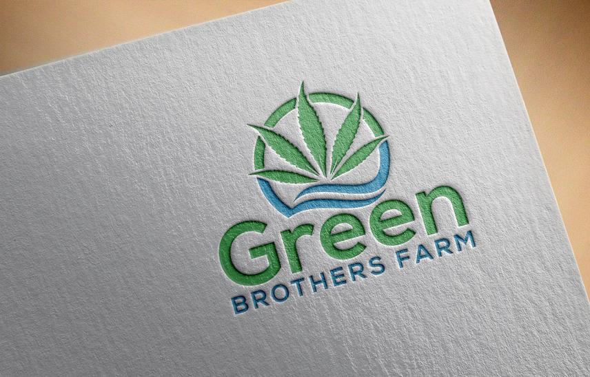 Logo Design by Private User - Entry No. 17 in the Logo Design Contest Green Brothers Farm Logo Design.