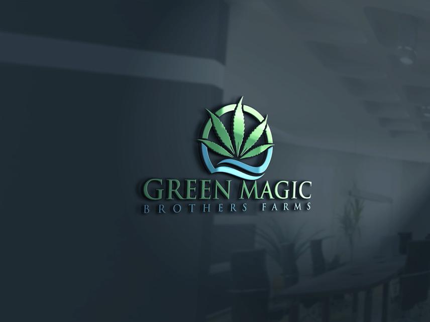 Logo Design by Private User - Entry No. 18 in the Logo Design Contest Green Brothers Farm Logo Design.