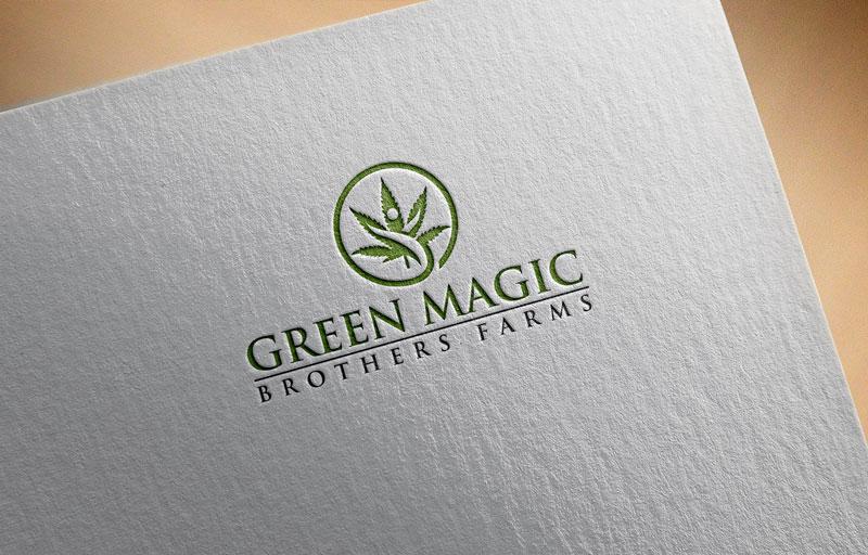 Logo Design by Private User - Entry No. 31 in the Logo Design Contest Green Brothers Farm Logo Design.