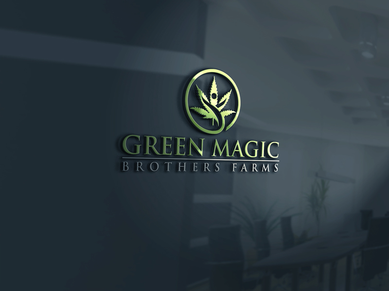 Logo Design by Private User - Entry No. 33 in the Logo Design Contest Green Brothers Farm Logo Design.