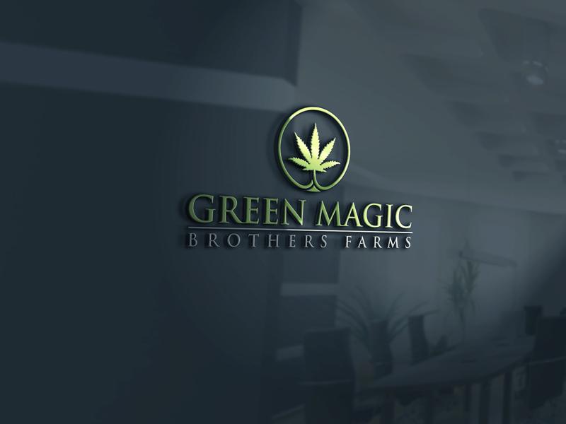 Logo Design by Private User - Entry No. 34 in the Logo Design Contest Green Brothers Farm Logo Design.