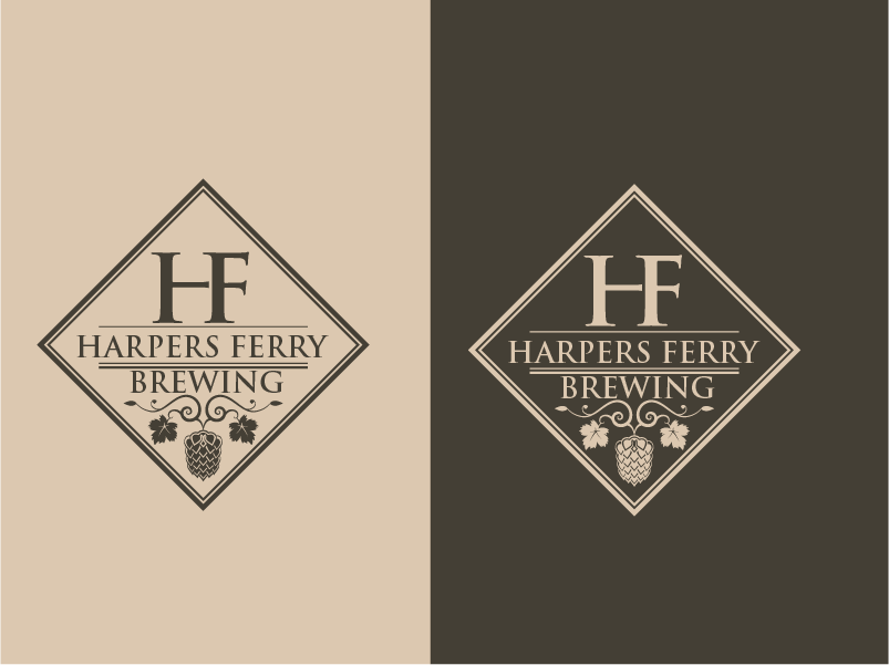 Logo Design by Private User - Entry No. 8 in the Logo Design Contest Unique Logo Design Wanted for Harpers ferry brewing company.