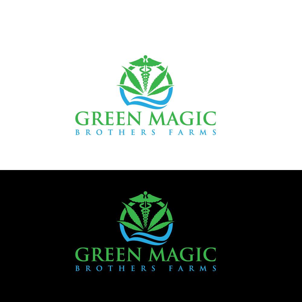 Logo Design by Private User - Entry No. 40 in the Logo Design Contest Green Brothers Farm Logo Design.