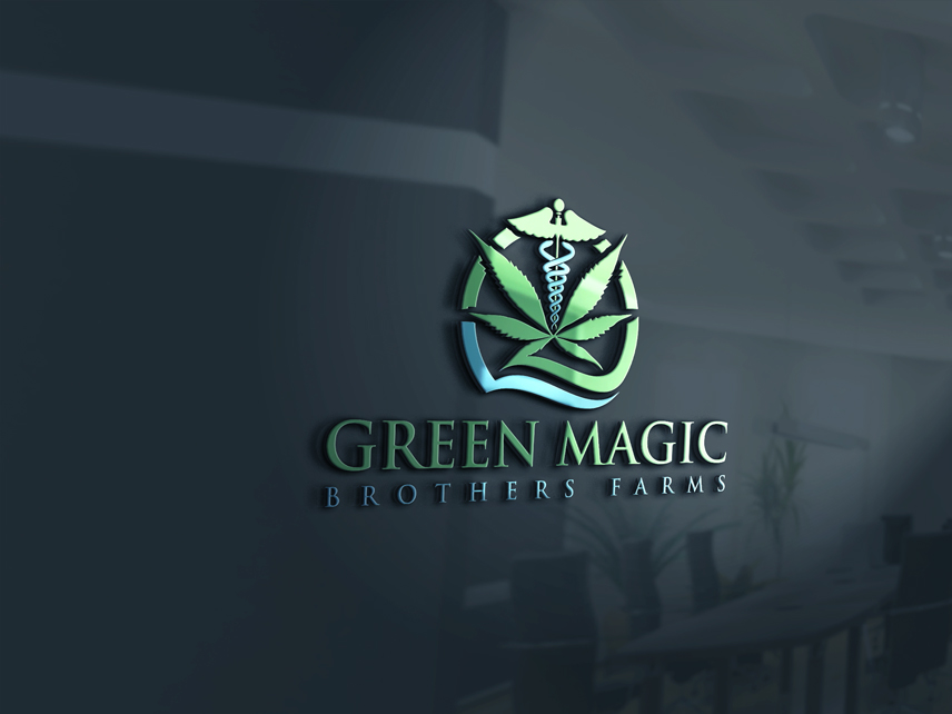 Logo Design by Private User - Entry No. 43 in the Logo Design Contest Green Brothers Farm Logo Design.