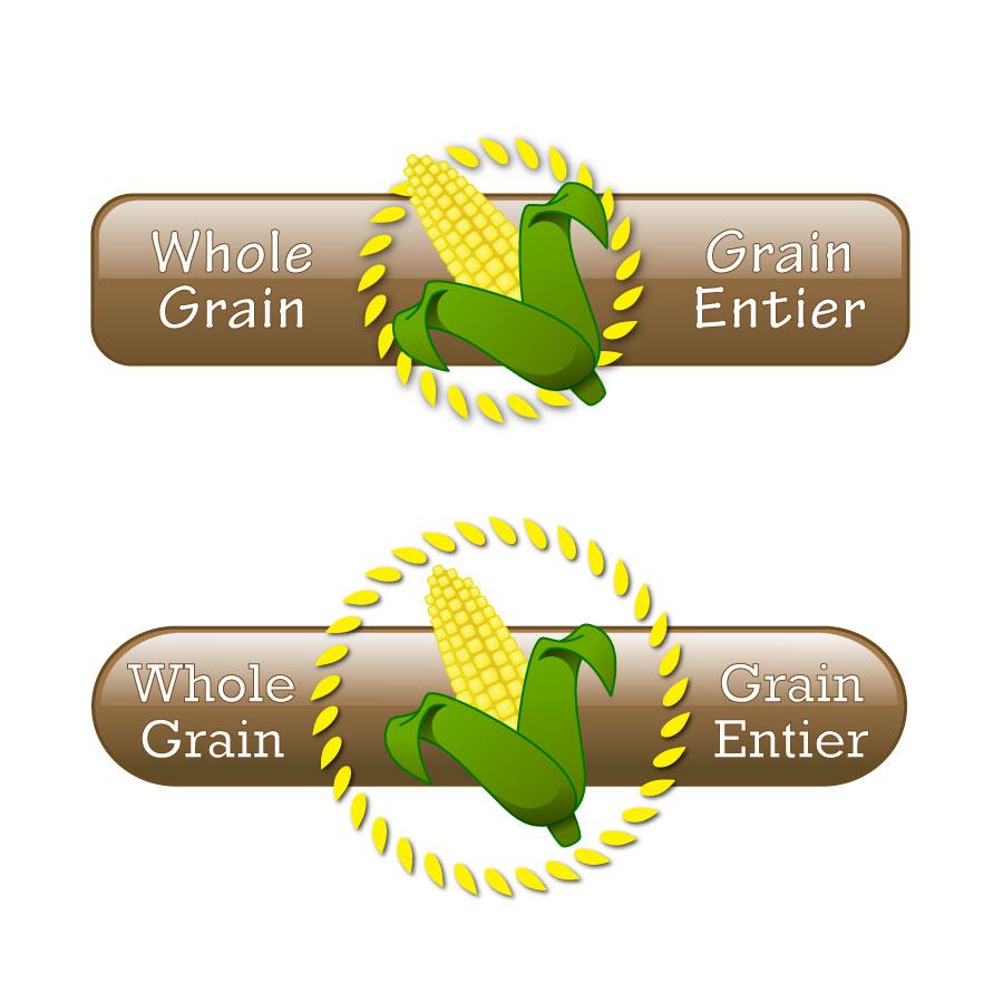 Logo Design by Benedict Estanislao - Entry No. 59 in the Logo Design Contest Whole Grain / Grain Entier.
