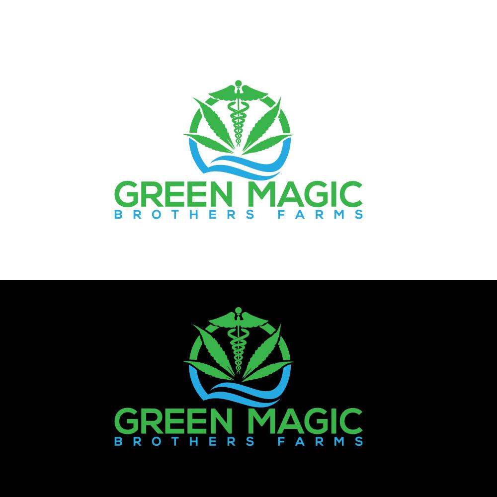 Logo Design by Private User - Entry No. 46 in the Logo Design Contest Green Brothers Farm Logo Design.