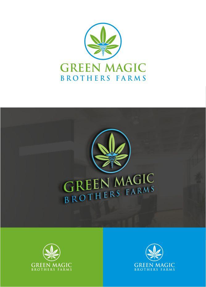 Logo Design by Raymond Garcia - Entry No. 48 in the Logo Design Contest Green Brothers Farm Logo Design.