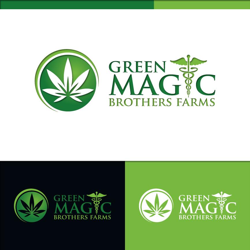 Logo Design by RasYa Muhammad Athaya - Entry No. 52 in the Logo Design Contest Green Brothers Farm Logo Design.