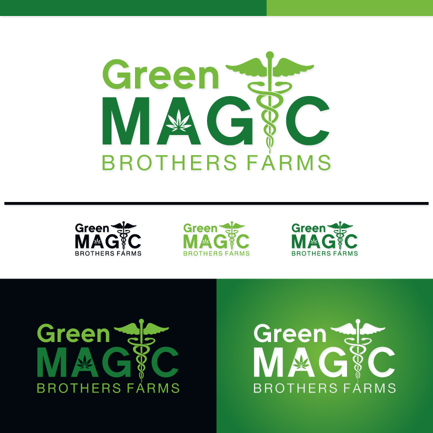 Logo Design by RasYa Muhammad Athaya - Entry No. 55 in the Logo Design Contest Green Brothers Farm Logo Design.