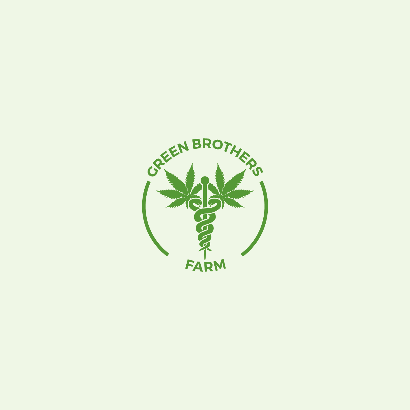 Logo Design by 354studio - Entry No. 59 in the Logo Design Contest Green Brothers Farm Logo Design.
