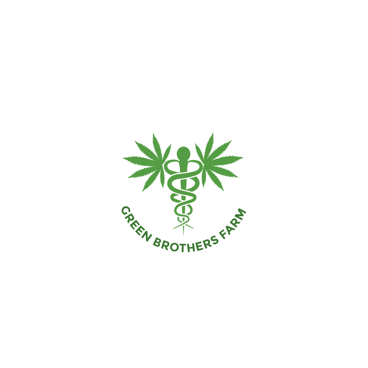 Logo Design by 354studio - Entry No. 62 in the Logo Design Contest Green Brothers Farm Logo Design.
