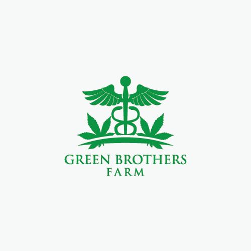 Logo Design by 354studio - Entry No. 63 in the Logo Design Contest Green Brothers Farm Logo Design.