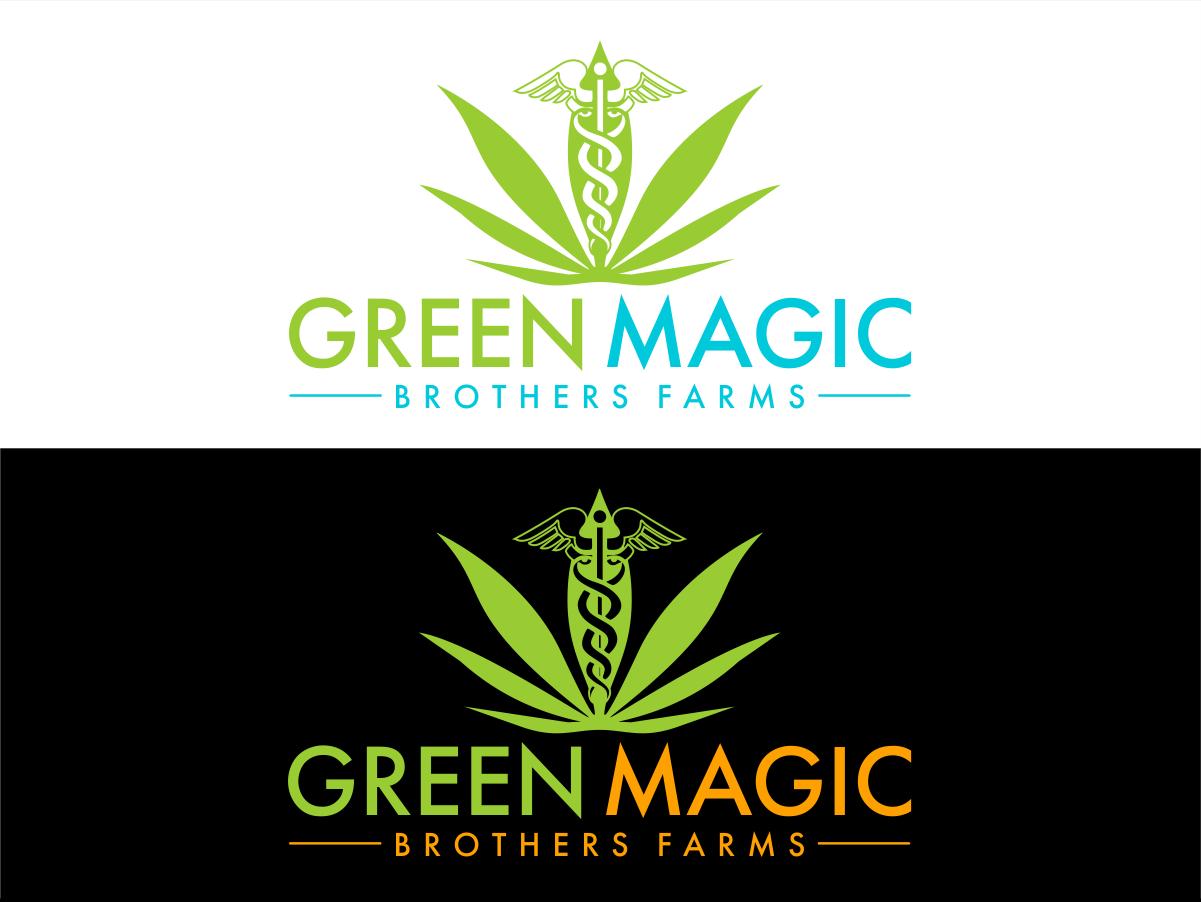 Logo Design by Private User - Entry No. 65 in the Logo Design Contest Green Brothers Farm Logo Design.