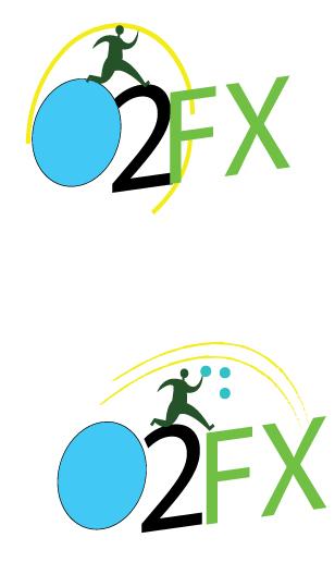 Logo Design by fari - Entry No. 84 in the Logo Design Contest Captivating Logo Design for O2FX.